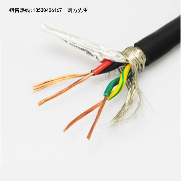 2平方柔性拖链电缆高清图片 高清大图
