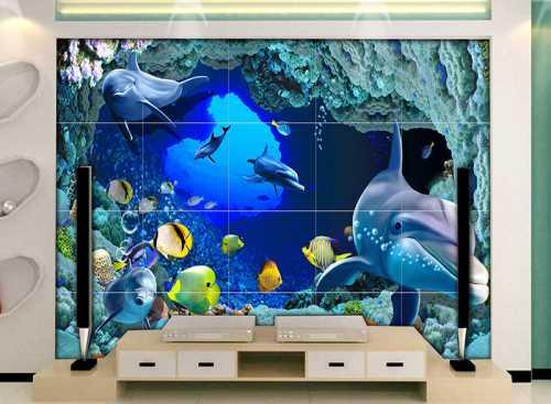 缇香3d海洋背景墙代理_浮雕3d海洋背景墙高清图片