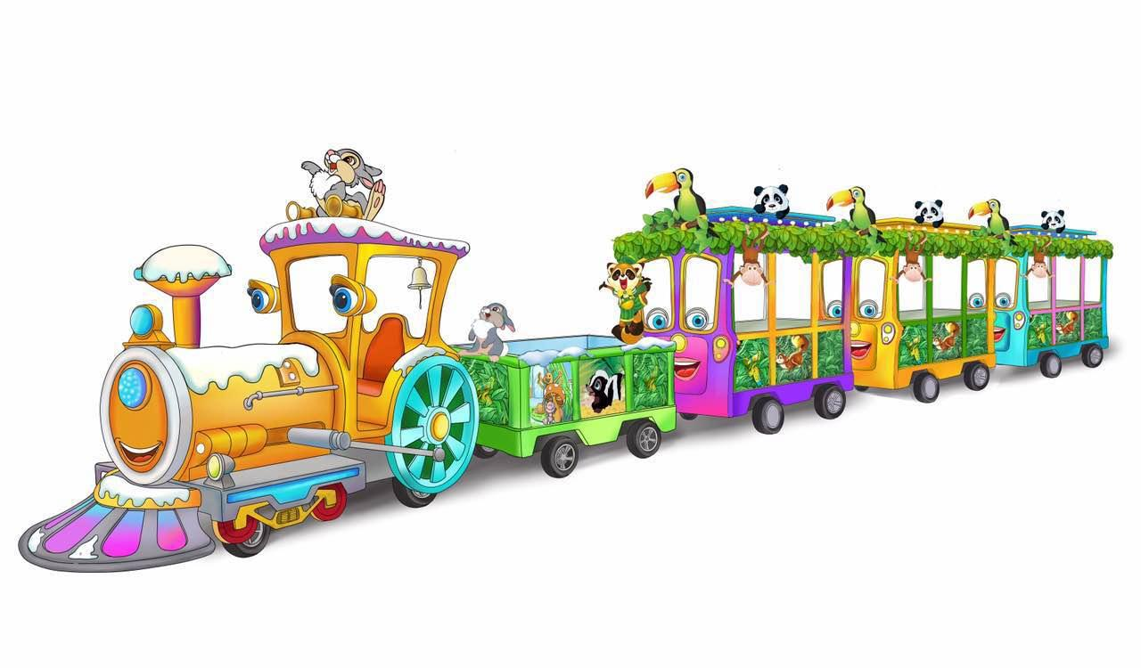 儿童火车高清大图