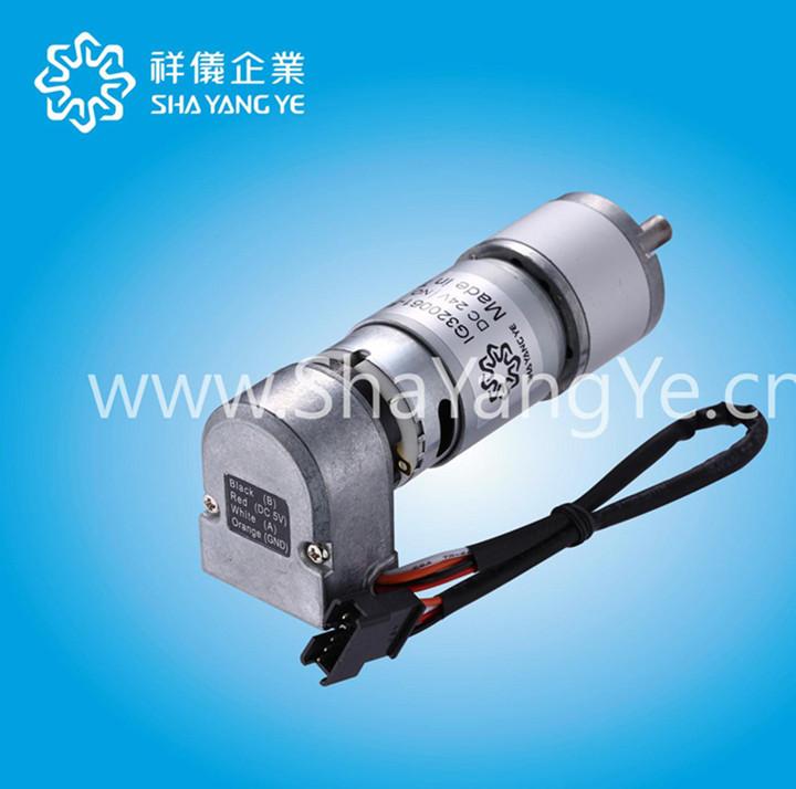 光学编码器减速电机