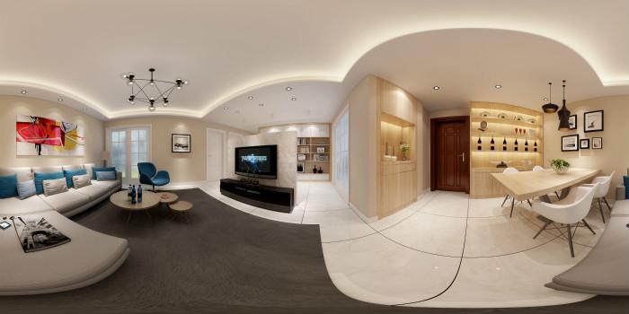 [服务]紫气钟山新房简约设计图展示-玄武区家装公司哪家强-简约而不