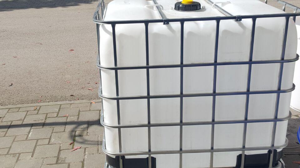 重庆二手吨桶-二手集装桶-二手钢架托盘吨桶【九成新