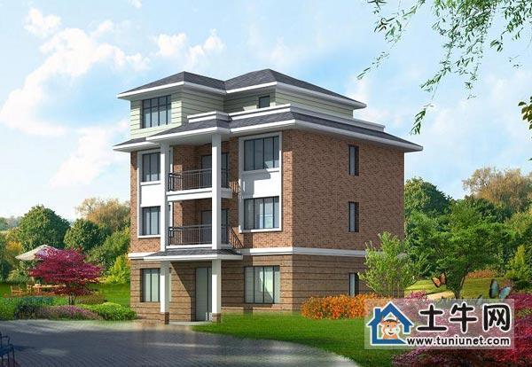 V1009四层新全套农村设计房屋图纸-无忧墙光荣设计图片