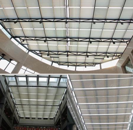 [供应]阳光房遮阳帘,天棚帘,阳光房天窗,顶棚.