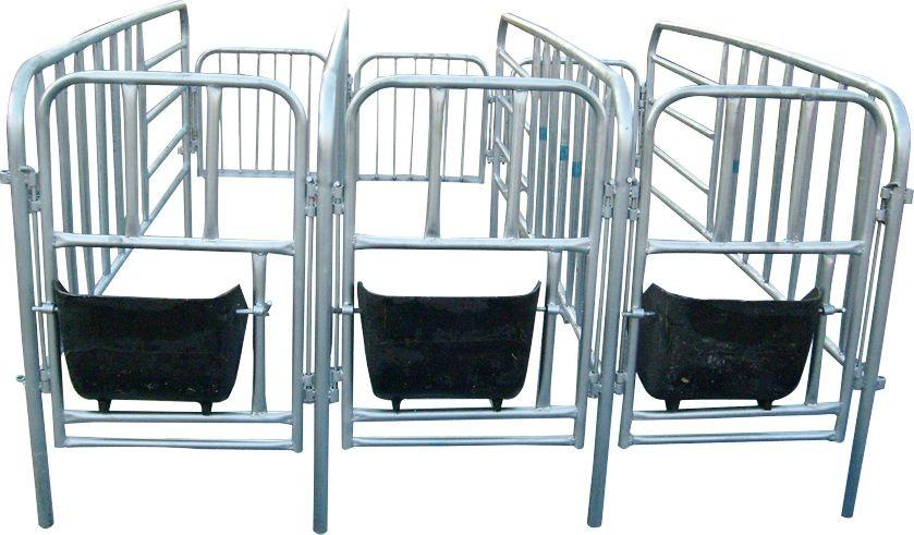 美食福临养猪设备供应定位栏产品高清泊头大图万载帮图片图片