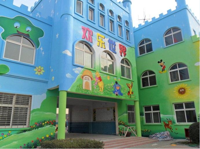 山东幼儿园粉刷,手绘产品图片高清大图