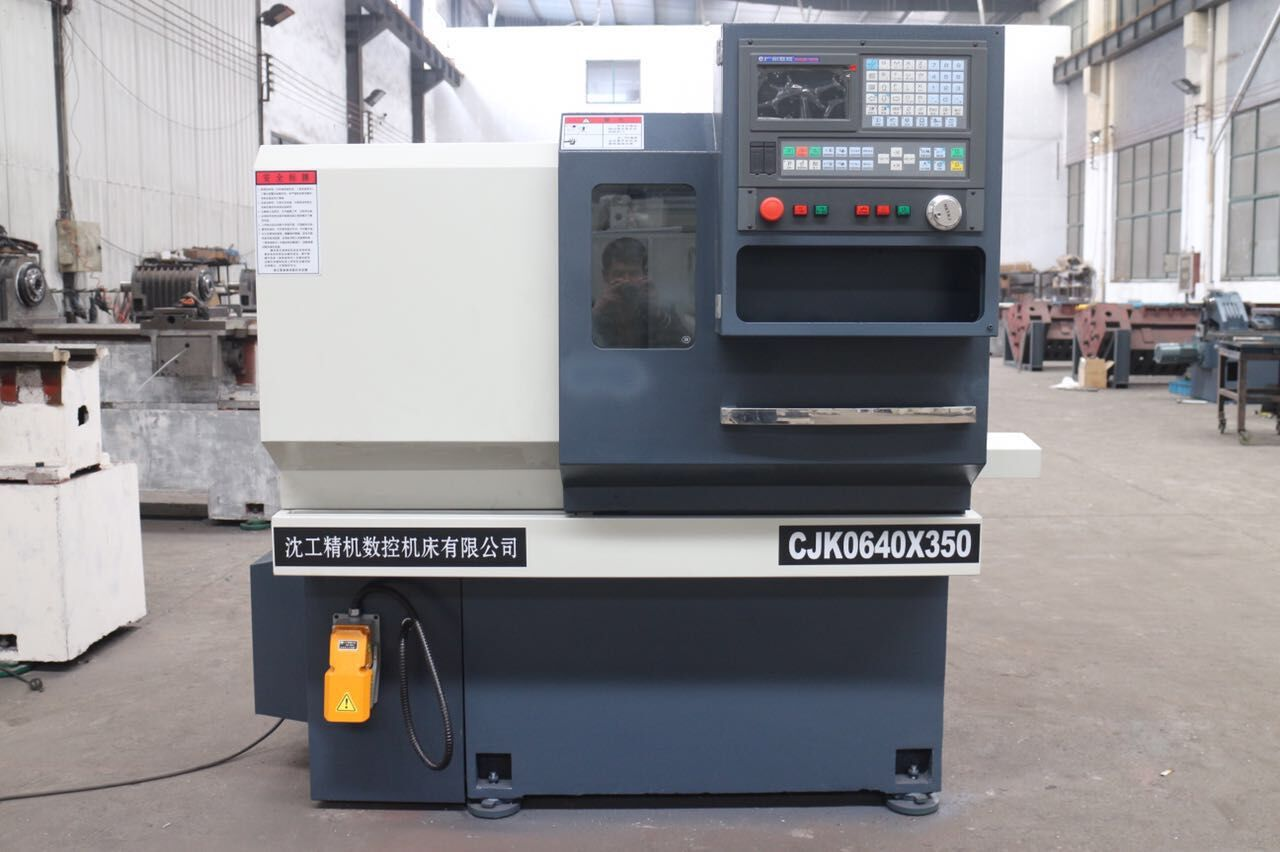 无锡沈工精机供应数控仪表车床CJK0632经济型小设备专业高速作业