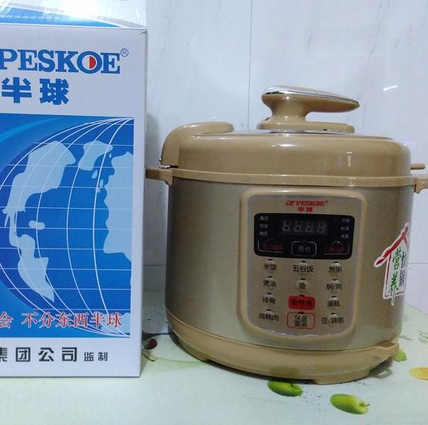 新款半球电压力锅 家用电压力煲批发价格