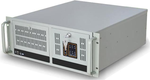 杭州先浩科技供应1U、2U、3U、4U等多种配置机架式工控机和嵌入式小尺寸工控机、工业平板电脑,欢迎垂询! 先浩19英寸标准上架式4U工控机IPC-910 整机名称:IPC-910 外置I/O端口:1*LINE OUT&MIC,6*USB,2*LAN,1*HDMI,1*VGA,1*DVI,1*PS/2,4*RS232,1*RS232/422/485 扩展槽位:提供4个PCI插槽,1个PCI-E插槽 标准功能参数: 机箱颜色:米灰色 机箱材质:优质钣金 CPU:支持LGA1155 Intel Core 32
