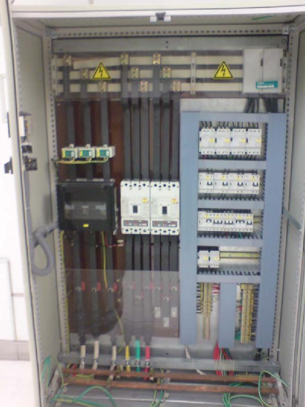 2       配电柜内选用的自动空气开关,接触器,熔断器,隔离开关等