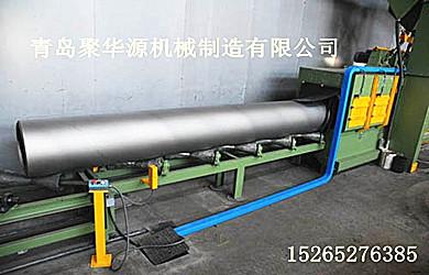 钢管内外壁式抛丸机工作原理尺寸较高的钢结构内外壁