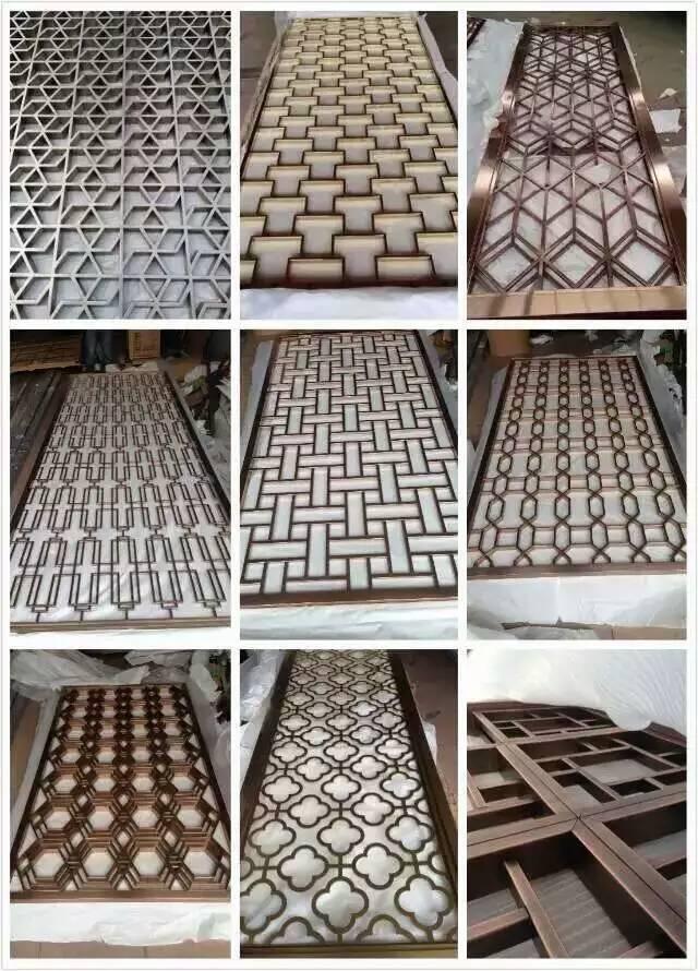 不锈钢蚀刻花纹板,采用最完美的感光蚀刻工艺,所生产的不锈钢蚀刻线条