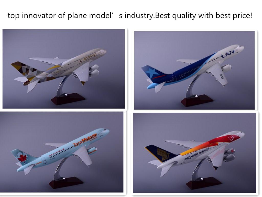 专业设计生产优质树脂飞机模型