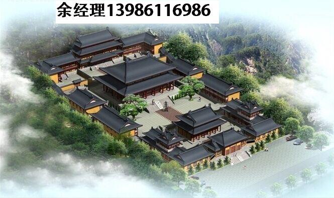 庭院,寺庙,道观,农村祠堂设计效果图