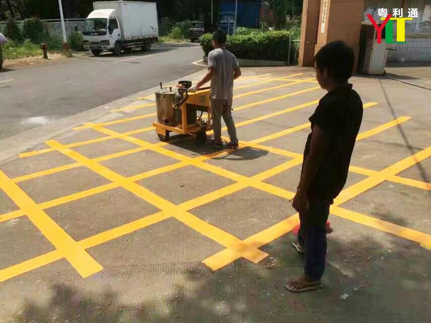 挡车器安装,画停车位,油漆划线,热熔划线,专业施工队